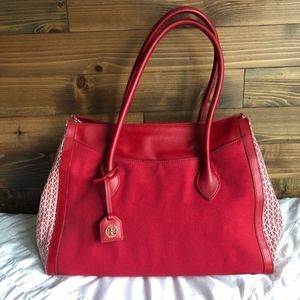 Tory Burch Savannah Extra Large Tote Carry On